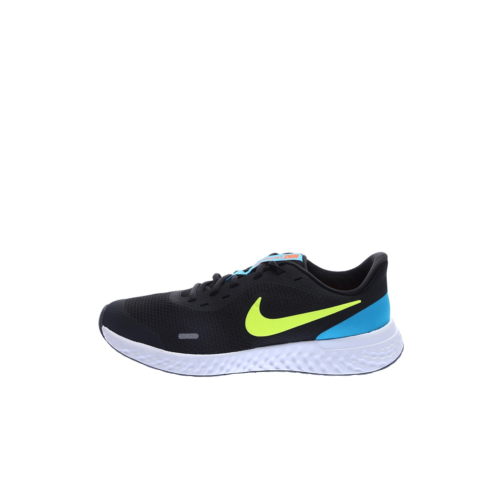 NIKE – Παιδικά παπούτσια running NIKE REVOLUTION 5 (GS) μαύρα-κίτιρινα