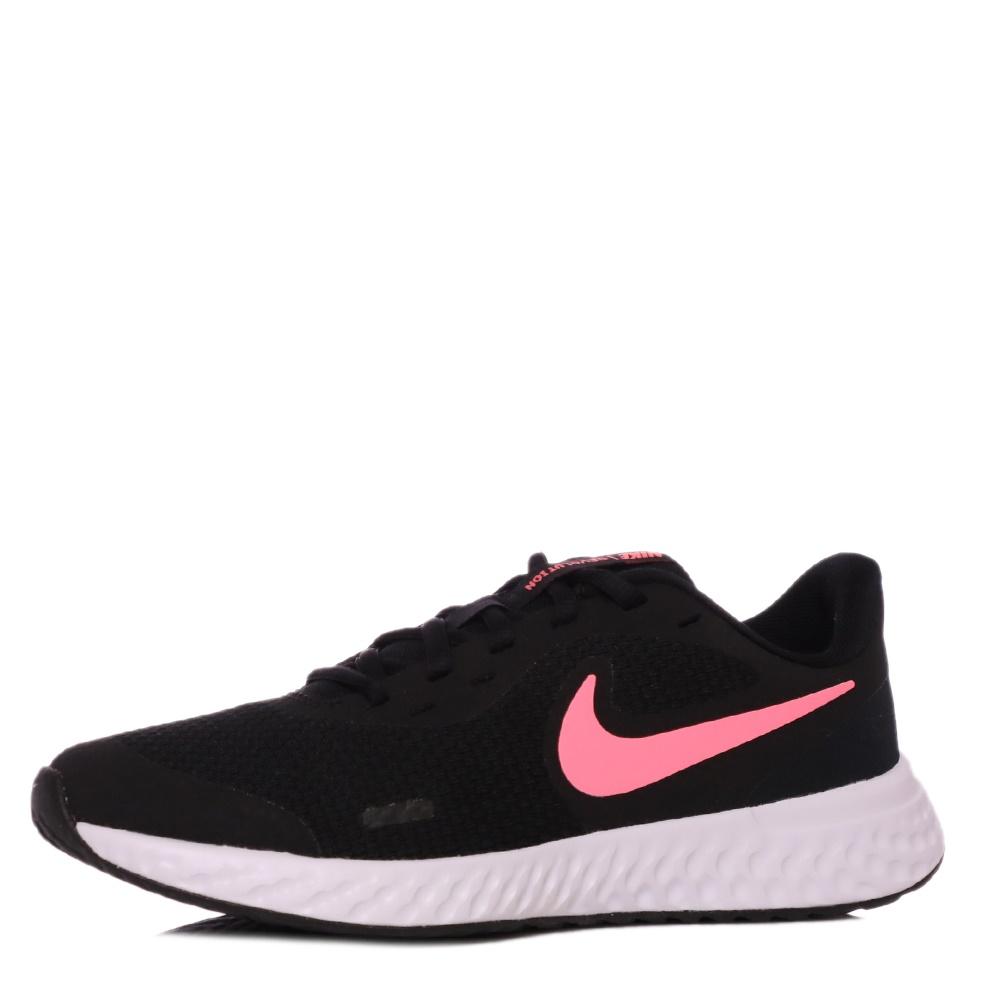 NIKE – Παιδικά παπούτσια NIKE REVOLUTION 5 (GS) μαύρα ροζ