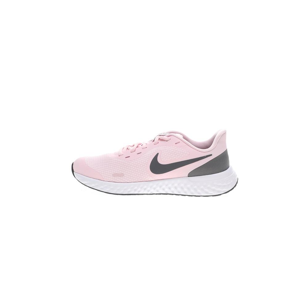 NIKE – Παιδικά παπούτσια running NIKE REVOLUTION 5 (GS) ροζ γκρι