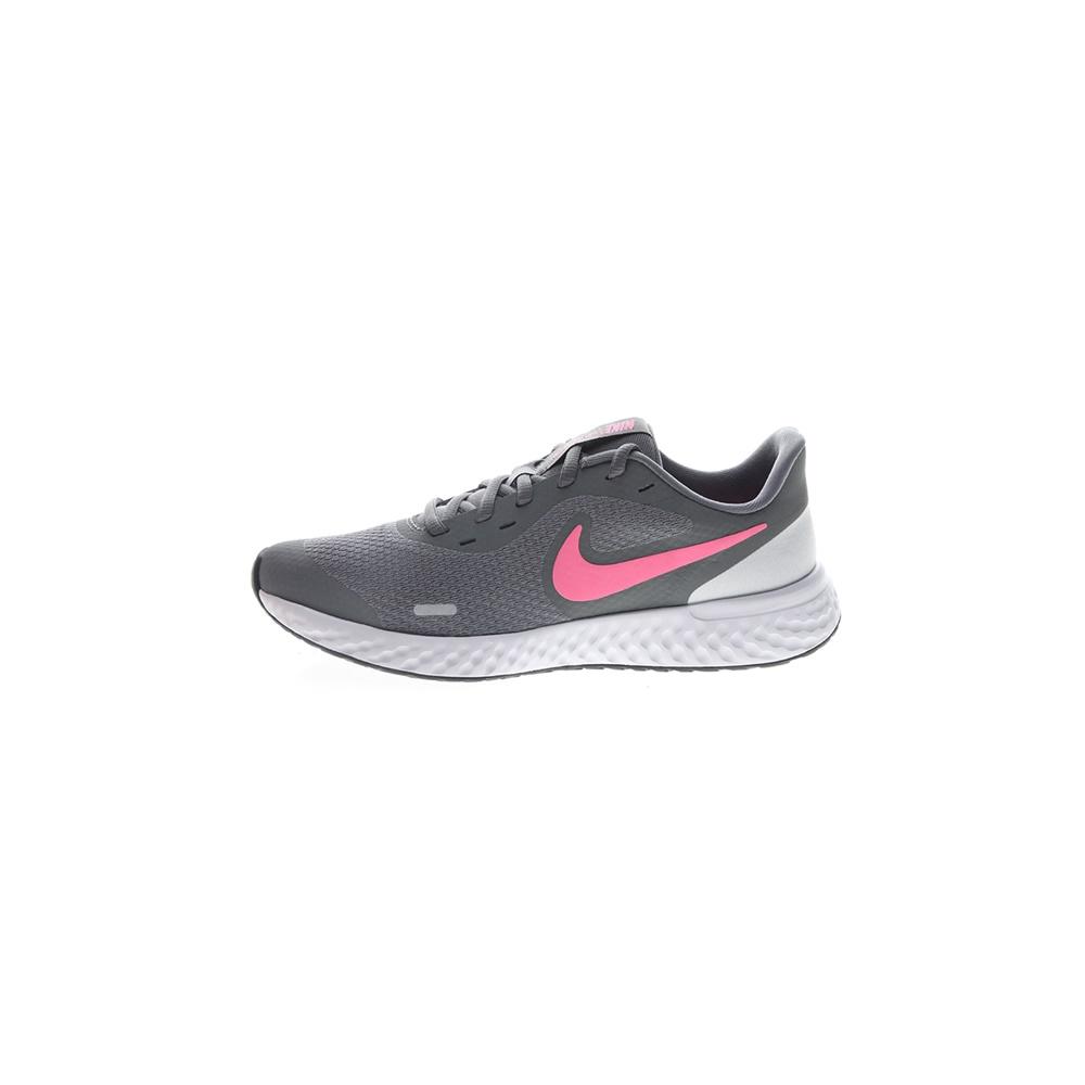 NIKE – Παιδικά παπούτσια running NIKE REVOLUTION 5 (GS) γκρι