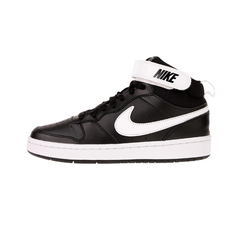 NIKE – Παιδικά αθλητικά παπούτσια Nike Court Borough MID 2 (GS) ασπρόμαυρα