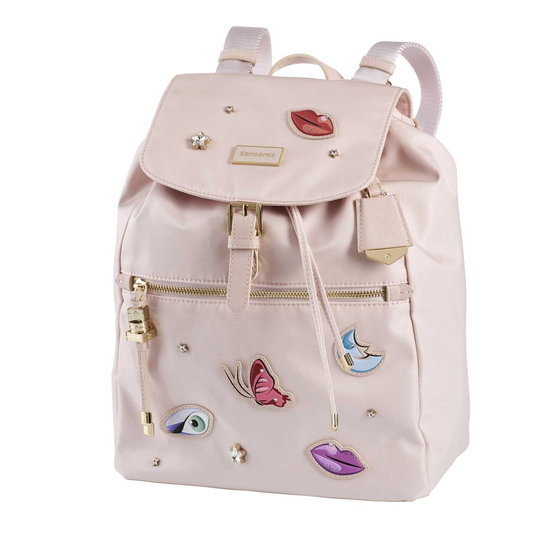2be582b6bb SAMSONITE – Γυναικεία τσάντα πλάτης KARISSA SAMSONITE ροζ
