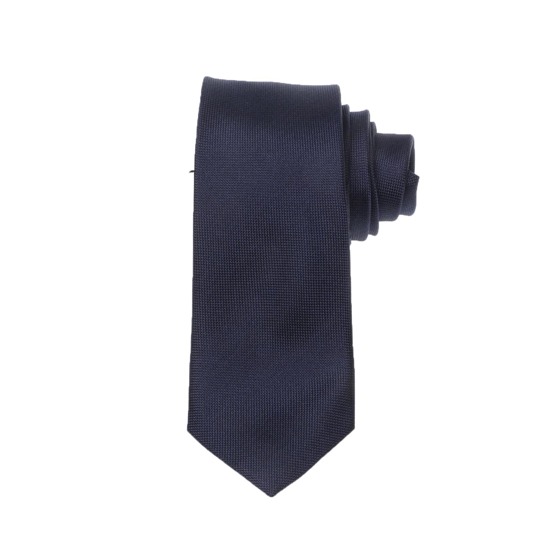 CK - Ανδρική γραβάτα CK OXFORD SOLID μπλε