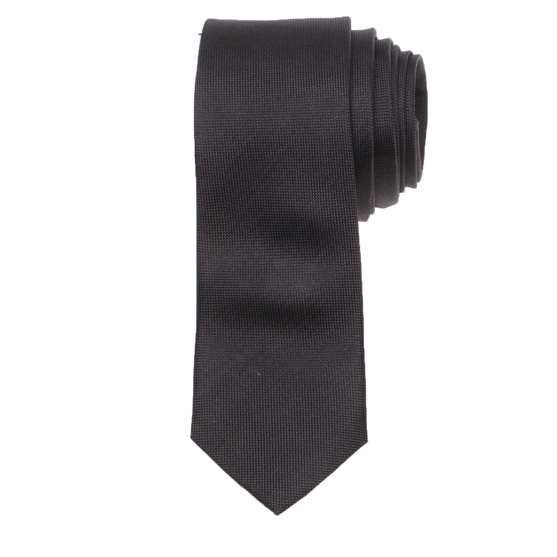 CK - Ανδρική γραβάτα CK OXFORD SOLID μαύρη