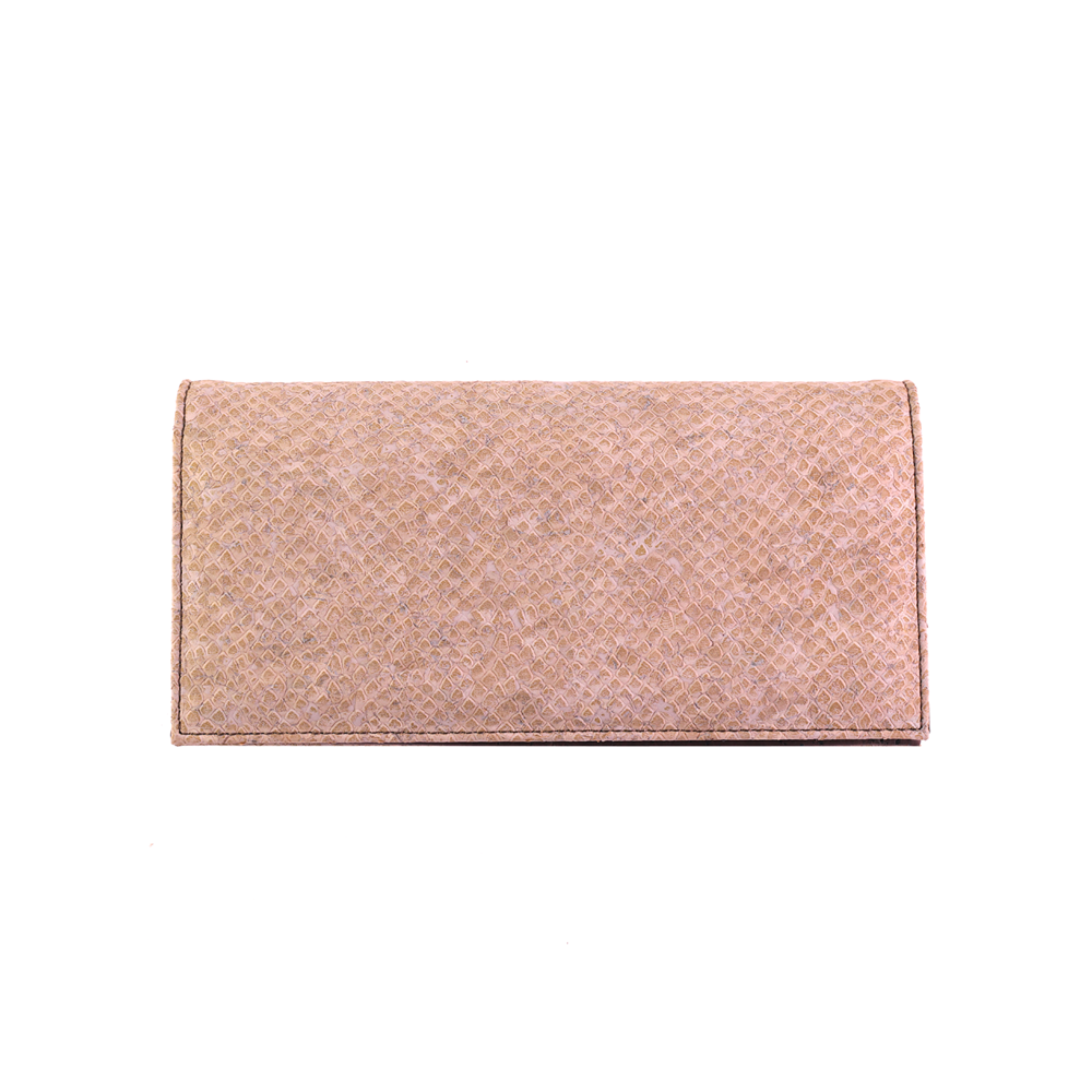 463cf6751730 APOXYLO – Γυναικείο πορτοφόλι snake white APOXYLO μπεζ – Online Ρούχα
