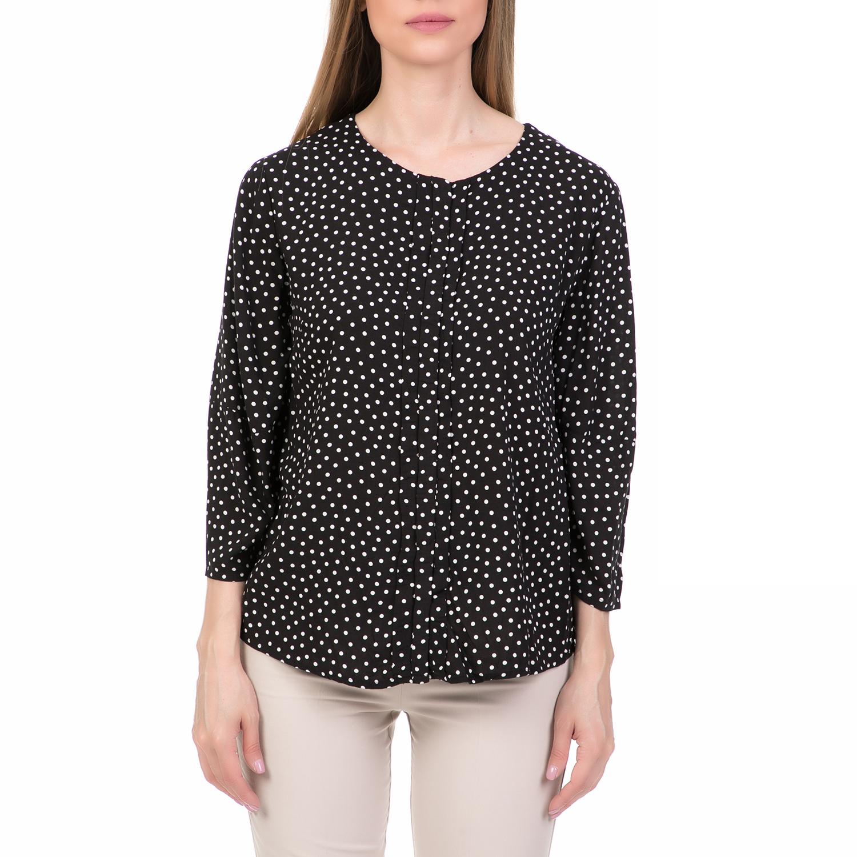 45a6636e08ec  ALE - Γυναικείο μακρυμάνικο πουκάμισο  ALE πουά.