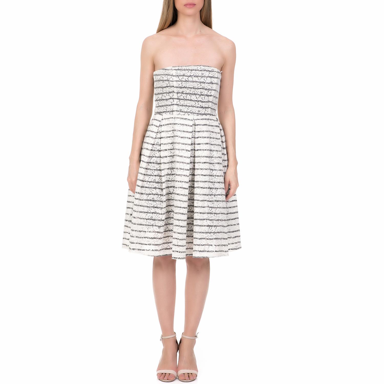e2a35dfeb644  ALE - Γυναικείο μίνι φόρεμα  ALE λευκό.