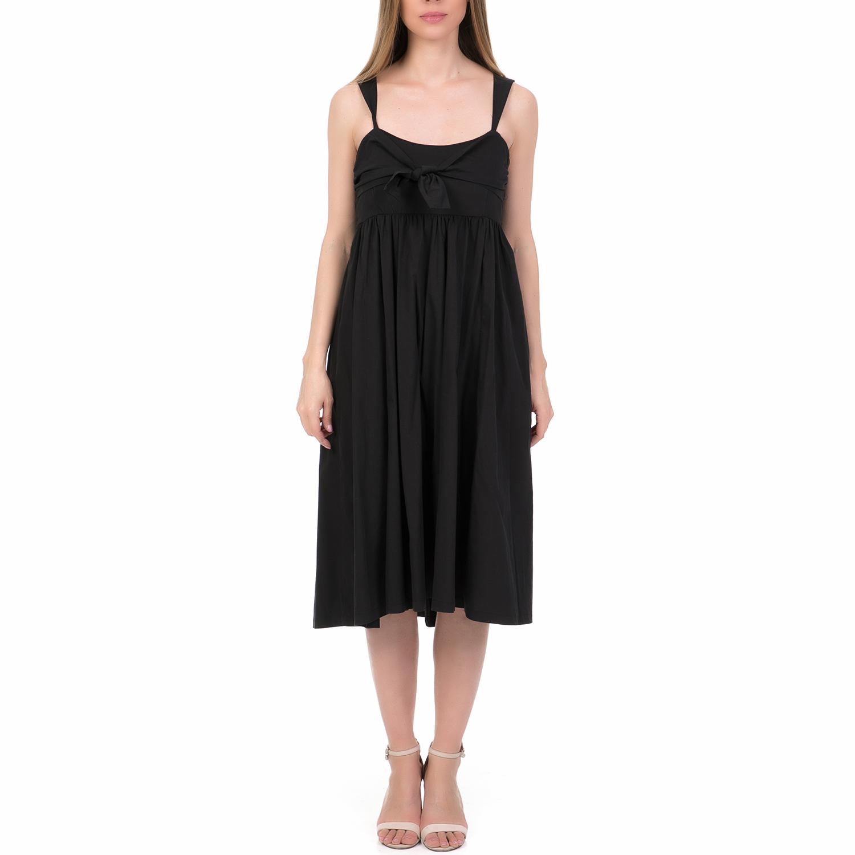 444bef1071a1  ALE - Γυναικείο μίντι φόρεμα  ALE μαύρο.