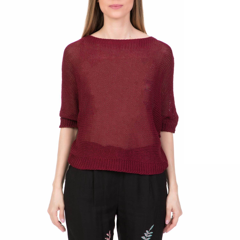 045a961198b2  ALE - Γυναικεία πλεκτή μπλούζα  ALE κόκκινη.