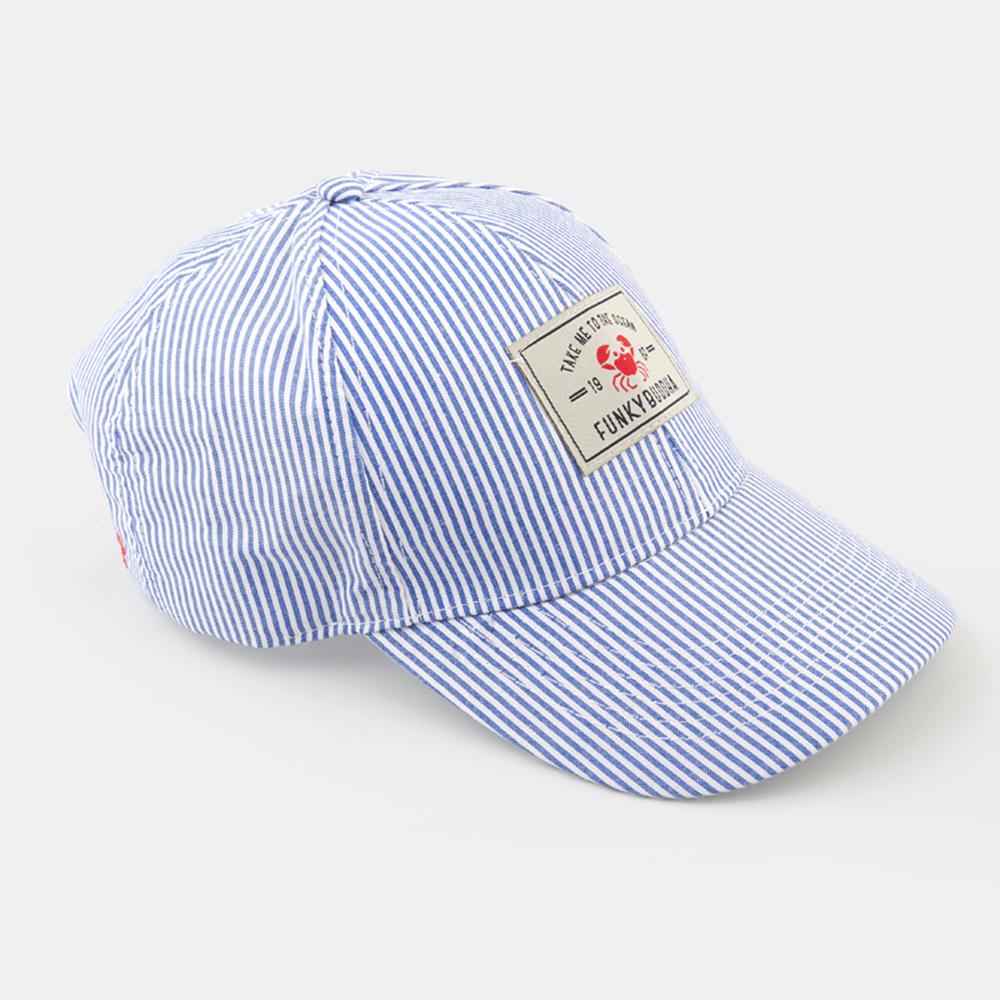 FUNKY BUDDΗA - Γυναικείο καπέλο FUNKY BUDDΗA ριγέ γυναικεία αξεσουάρ καπέλα αθλητικά