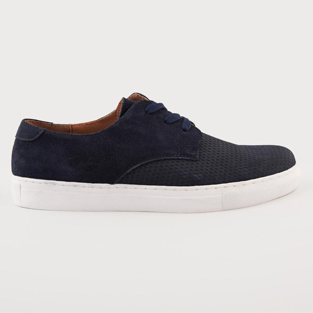FUNKY BUDDHA - Ανδρικά δετά παπούτσια FUNKY BUDDHA μπλε ανδρικά παπούτσια δετά casual