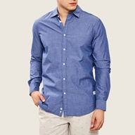 Ανδρικό καρό πουκάμισο Dors μωβ (1625816.0-0010)  4d4c0c38935
