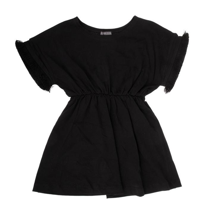 001edb58d5b9 Παιδικό φόρεμα με κρόσσια Yellowsub μαύρο (1743339.0-l001) | Factory ...