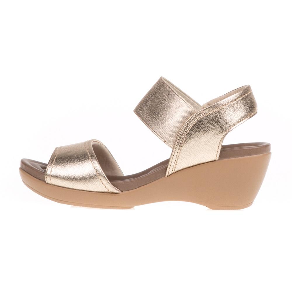 0f240638be USA FLEX - Γυναικείες πλατφόρμες USA FLEX χρυσές - IFY Shoes