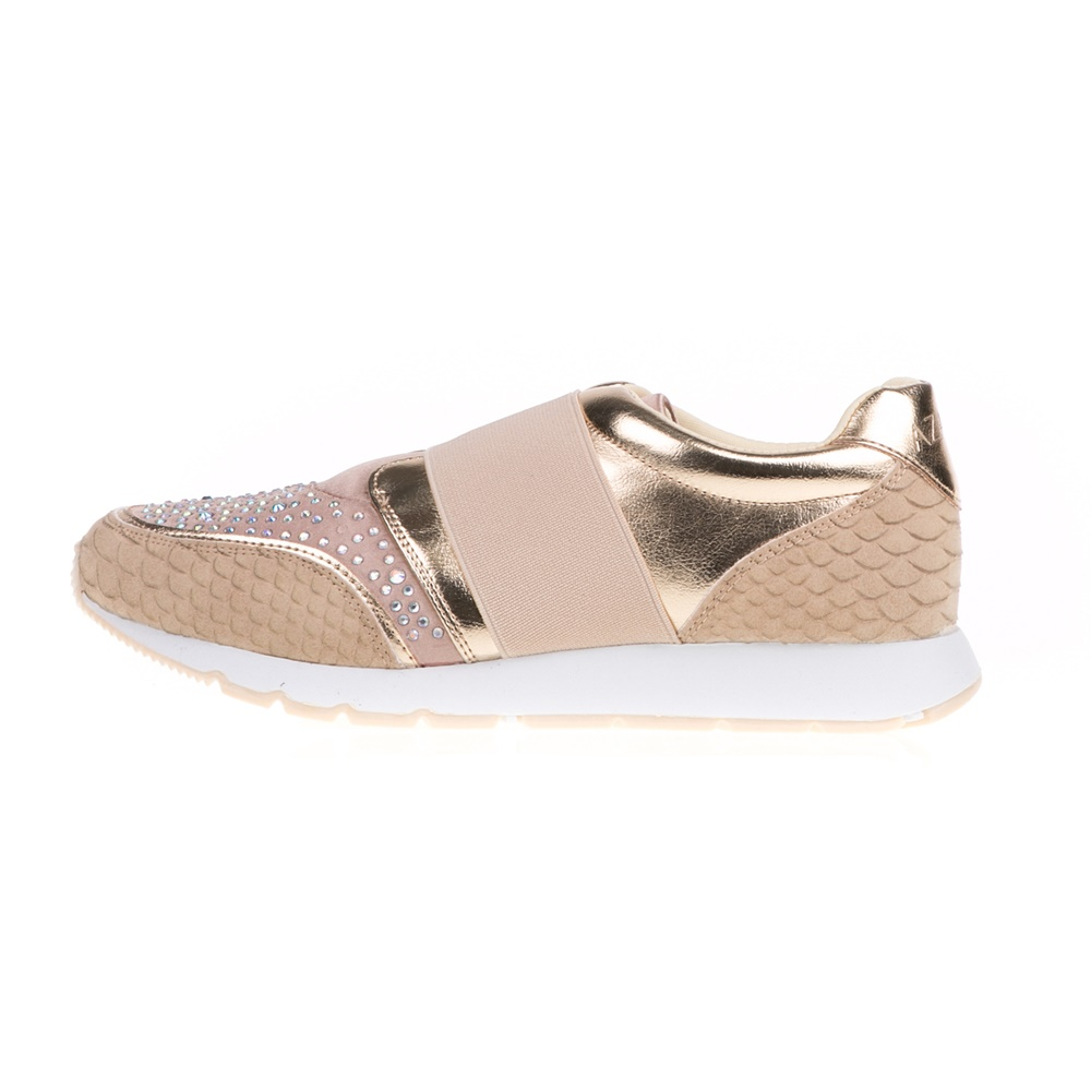 AZAREY – Γυναικεία sneakers με στρας AZAREY σαμπανιζέ