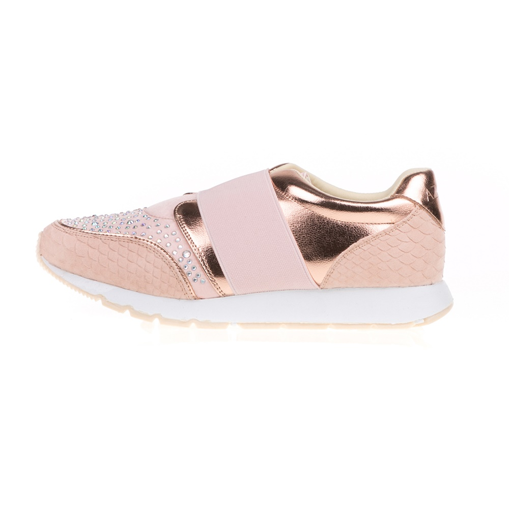 AZAREY – Γυναικεία sneakers με στρας AZAREY ροζ