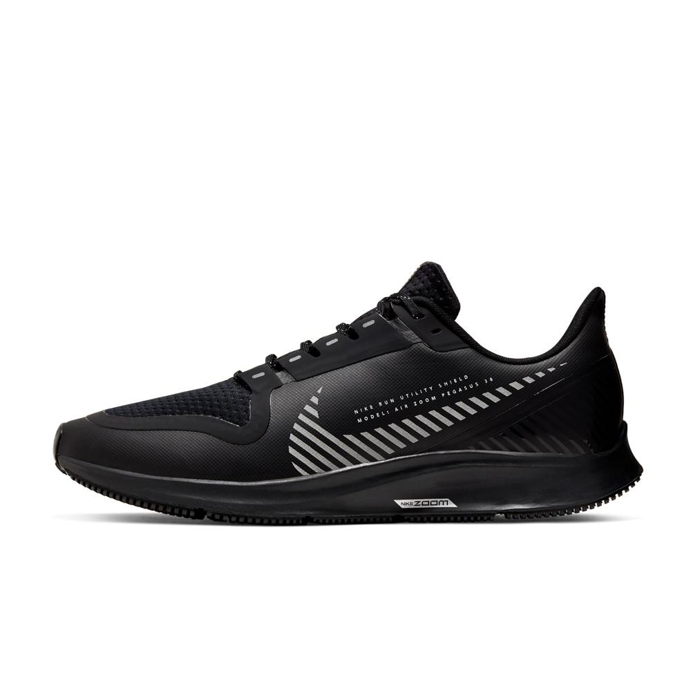 NIKE – Ανδρικά παπούτσια running AIR ZOOM PEGASUS 36 SHIELD μαύρα