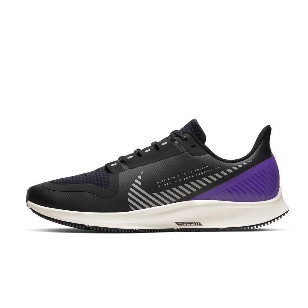 NIKE – Ανδρικά παπούτσια running NIKE AIR ZOOM PEGASUS 36 SHIELD μαύρα μπλε