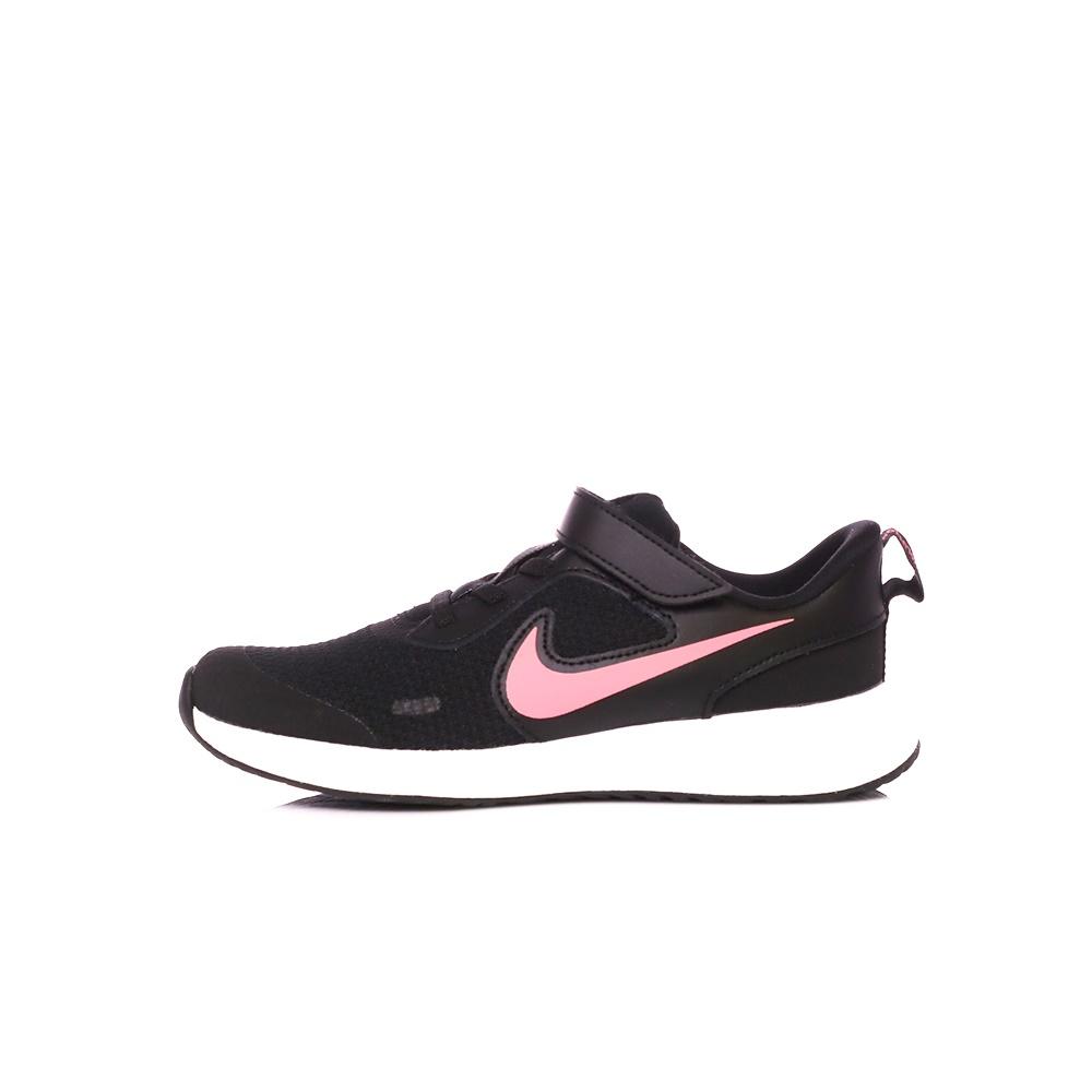 NIKE – Παιδικά παπούτσια NIKE REVOLUTION 5 (PSV) μαύρα