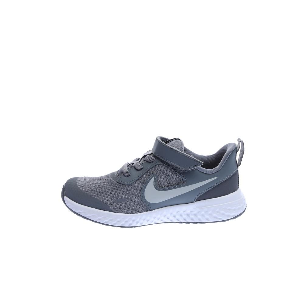 NIKE – Παιδικά παπούτσια running NIKE REVOLUTION 5 (PSV) γκρι-ασημί