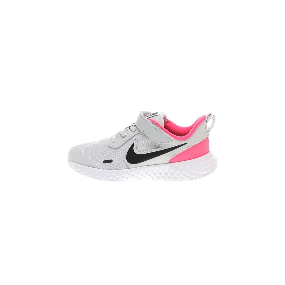 NIKE – Παιδικά παπούτσια running NIKE REVOLUTION 5 (PSV) γκρι