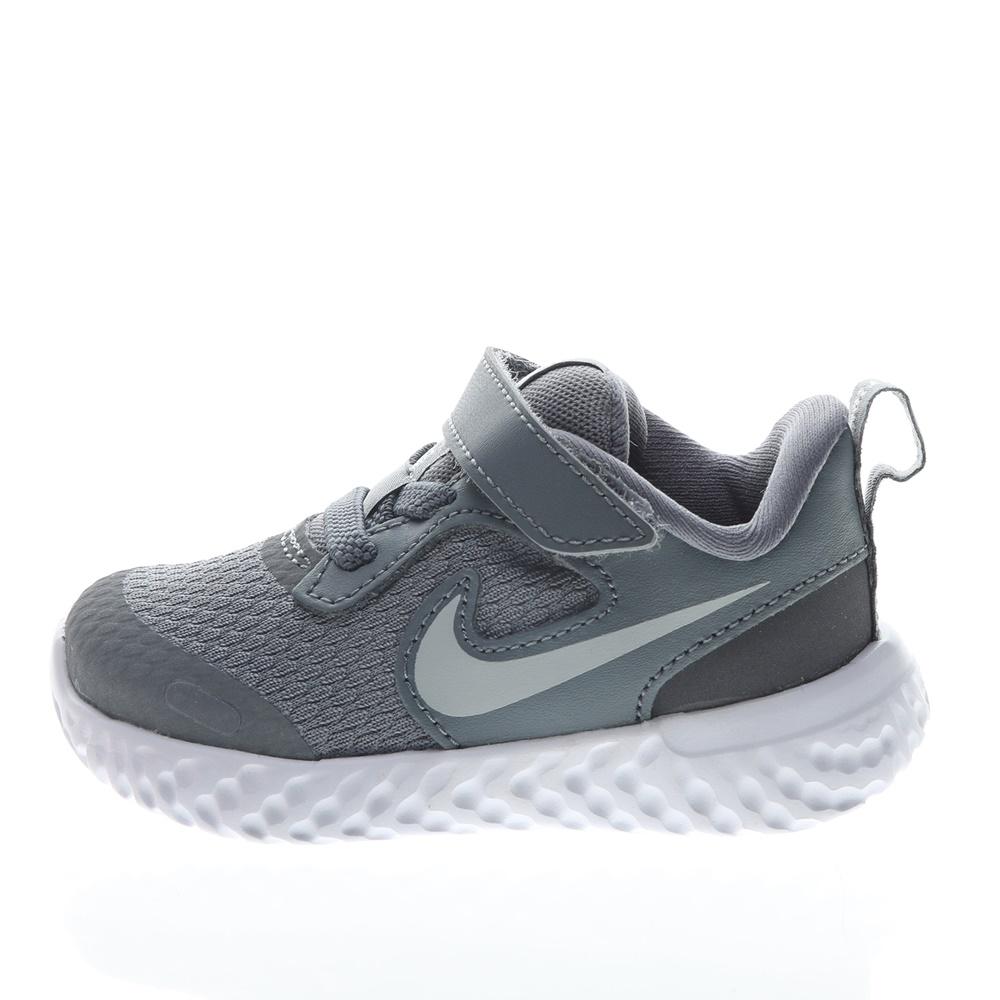 NIKE – Βρεφικά αθλητικά παπούτσια NIKE Revolution 5 (TDV) γκρι