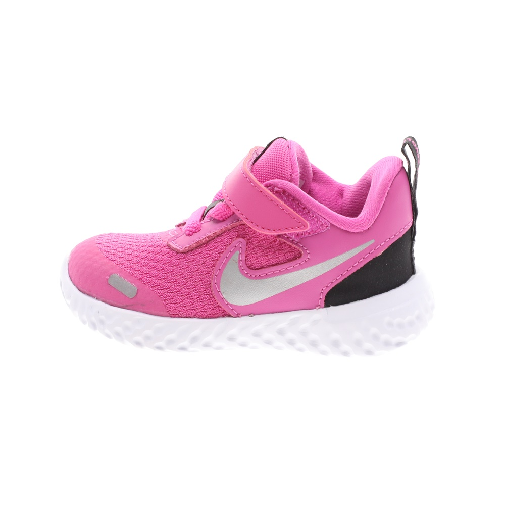 NIKE – Βρεφικά αθλητικά παπούτσια NIKE REVOLUTION 5 (TDV) ροζ