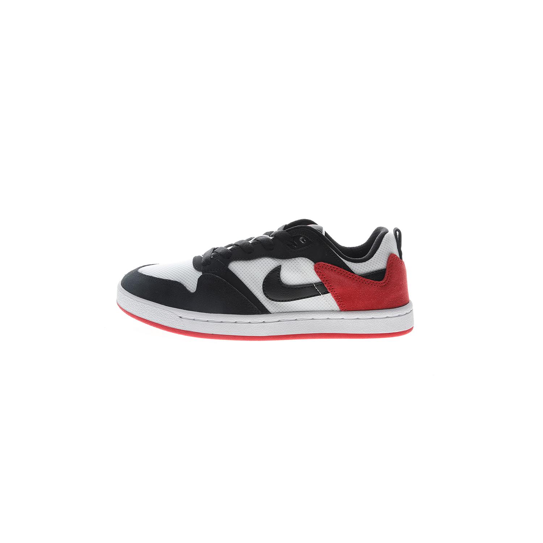 NIKE – Παιδικά sneakers NIKE SB ALLEYOOP (GS) λευκά μαύρα