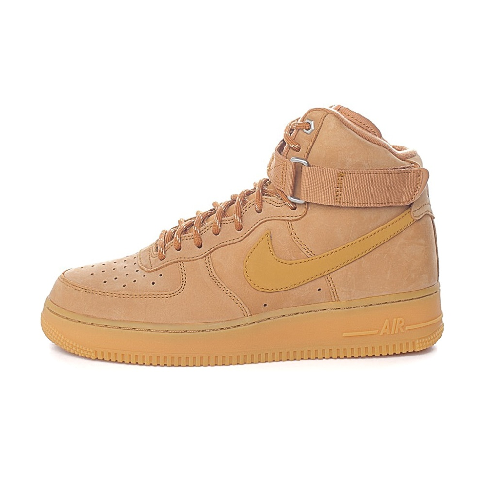 NIKE – Ανδρικά παπούσια NIKE AIR FORCE 1 HIGH '07 μπεζ