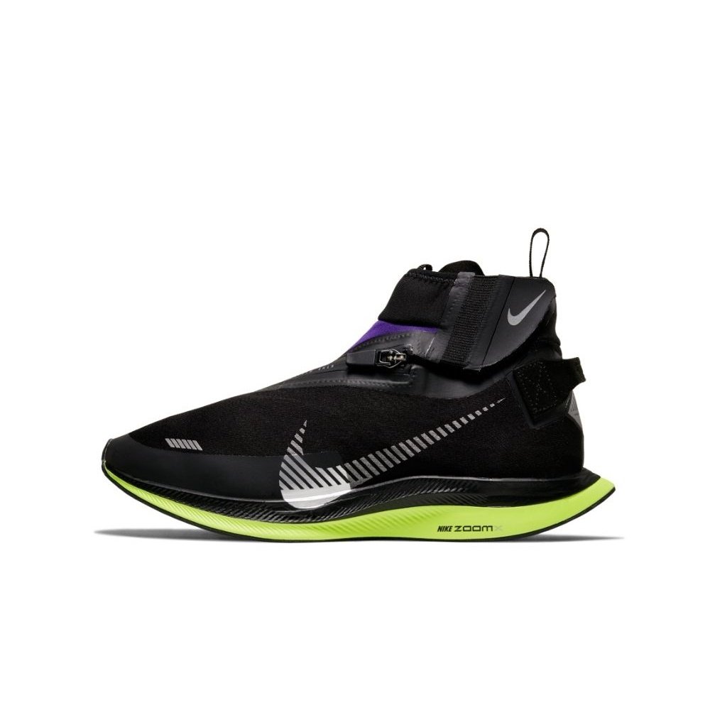 NIKE – Γυναικεία παπούτσια training ΝΙΚΕ ZOOM PEGASUS TURBO SHIELD μαύρα