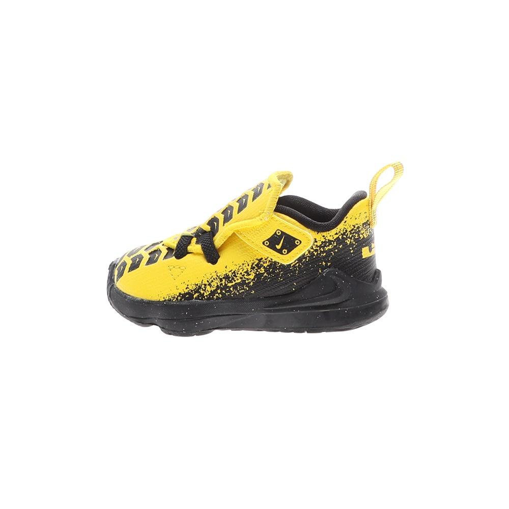 NIKE – Βρεφικά αθλητικά παπούτσια NIKE LEBRON XVII AUTO (TD) κίτρινα