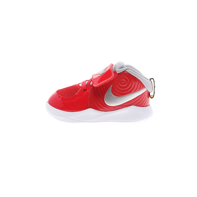 NIKE – Βρεφικά αθλητικά παπούτσια NIKE TEAM HUSTLE D 9 (TD) AUTO κόκκινα