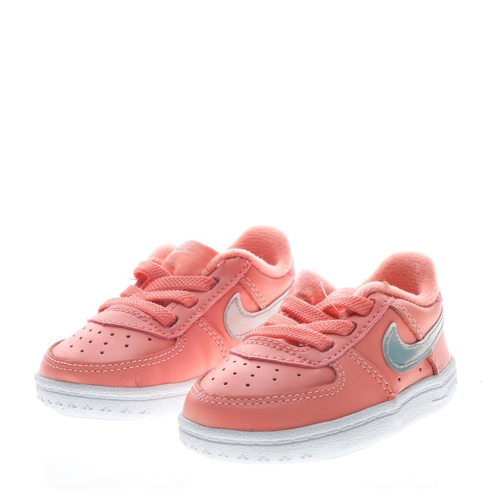 NIKE – Βρεφικά παπούτσια NIKE FORCE 1 CRIB (CB) ροζ
