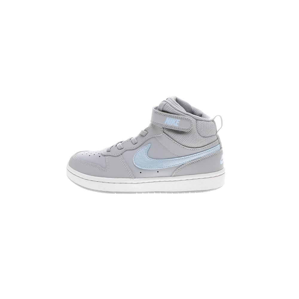 NIKE – Παιδικά αθλητικά παπούτσια NIKE COURT BOROUGH MID 2 EP PS γκρι