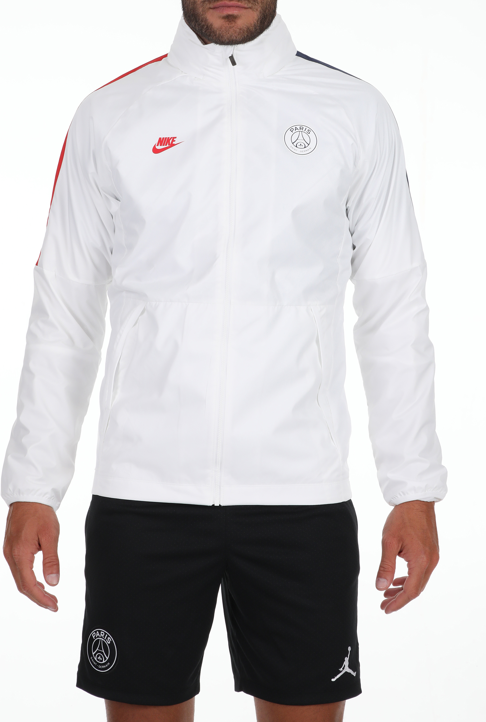 NIKE - Ανδρικό αθλητικό jacket NIKE PSG M NK AWF LTE JKT CL λευκό