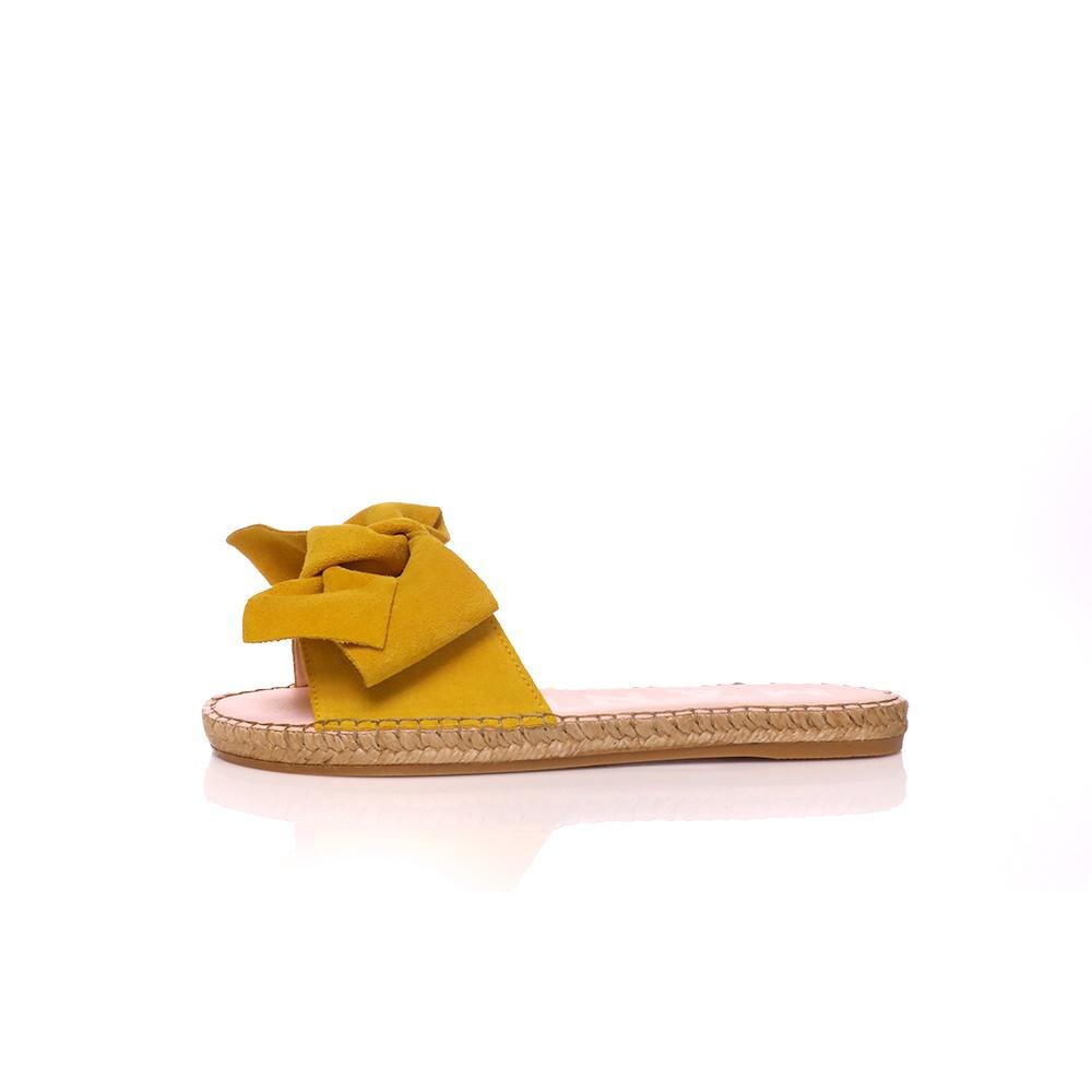 MANEBI – Γυναικεία σανδάλια MANEBI HAMPTONS κίτρινα