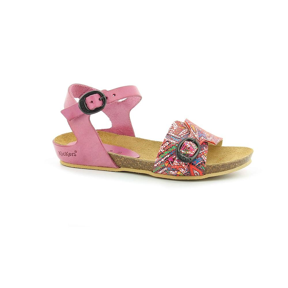 KICKERS – Κοριτσίστικα πέδιλα BOMBOMS KICKERS ροζ