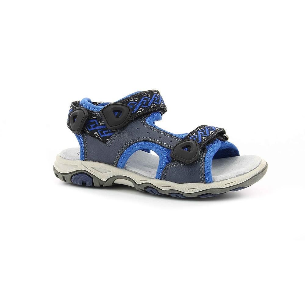 KICKERS - Αγορίστικα πέδιλα KIWI KICKERS μπλε παιδικά boys παπούτσια πέδιλα σανδάλια