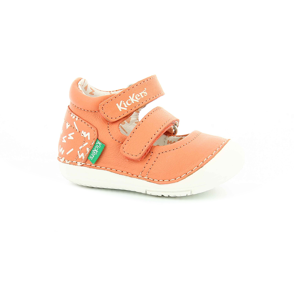 72a58fafe76 KICKERS – Βρεφικά παπούτσια SOLA KICKERS πορτοκαλί