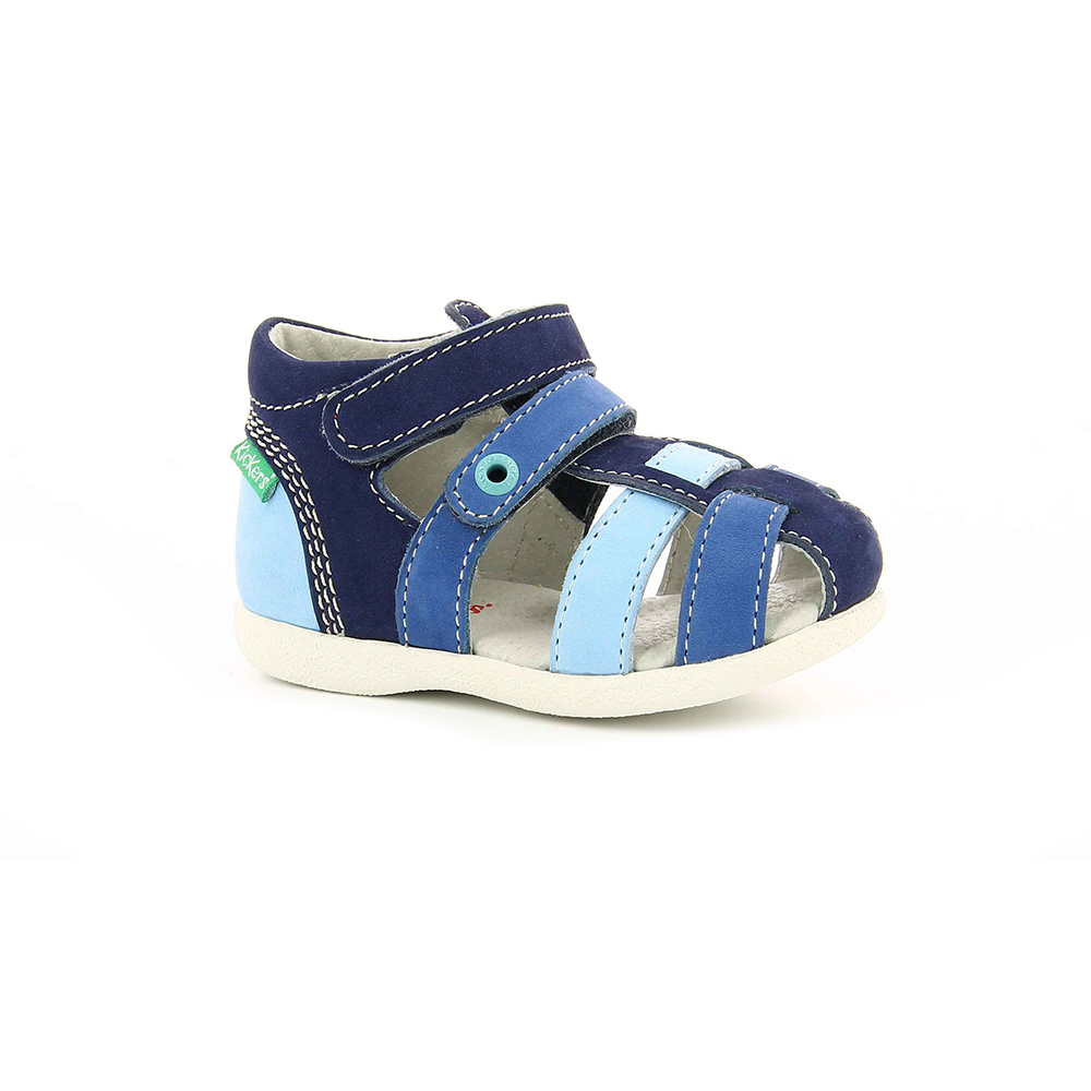 544dd4fa90a -22% Factory Outlet KICKERS – Βρεφικά πέδιλα BABYCHAN KICKERS μπλε