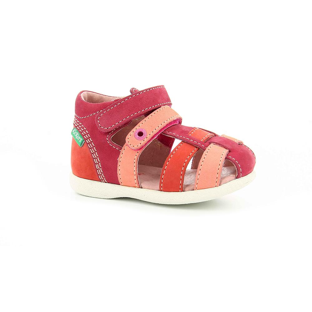 1b563e1cdb -22% Factory Outlet KICKERS – Βρεφικά πέδιλα BABYCHAN KICKERS ροζ