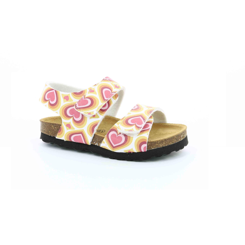 KICKERS - Κοριτσίστικα πέδιλα SUMMERKRO KICKERS πορτοκαλί παιδικά girls παπούτσια πέδιλα σανδάλια