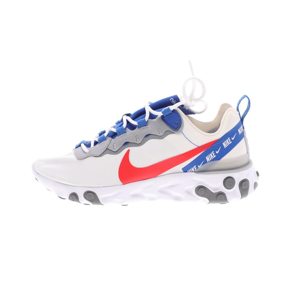 NIKE – Ανδρικά παπούτσια running NIKE REACT ELEMENT 55 λευκά μπλε