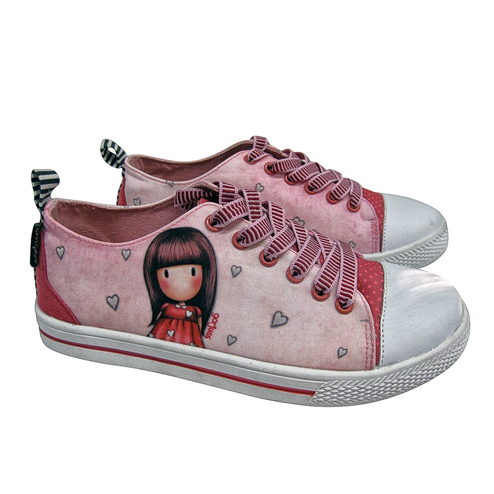 SANTORO Gorjuss – Παιδικά sneakers για κορίτσια SANTORO Gorjuss ροζ