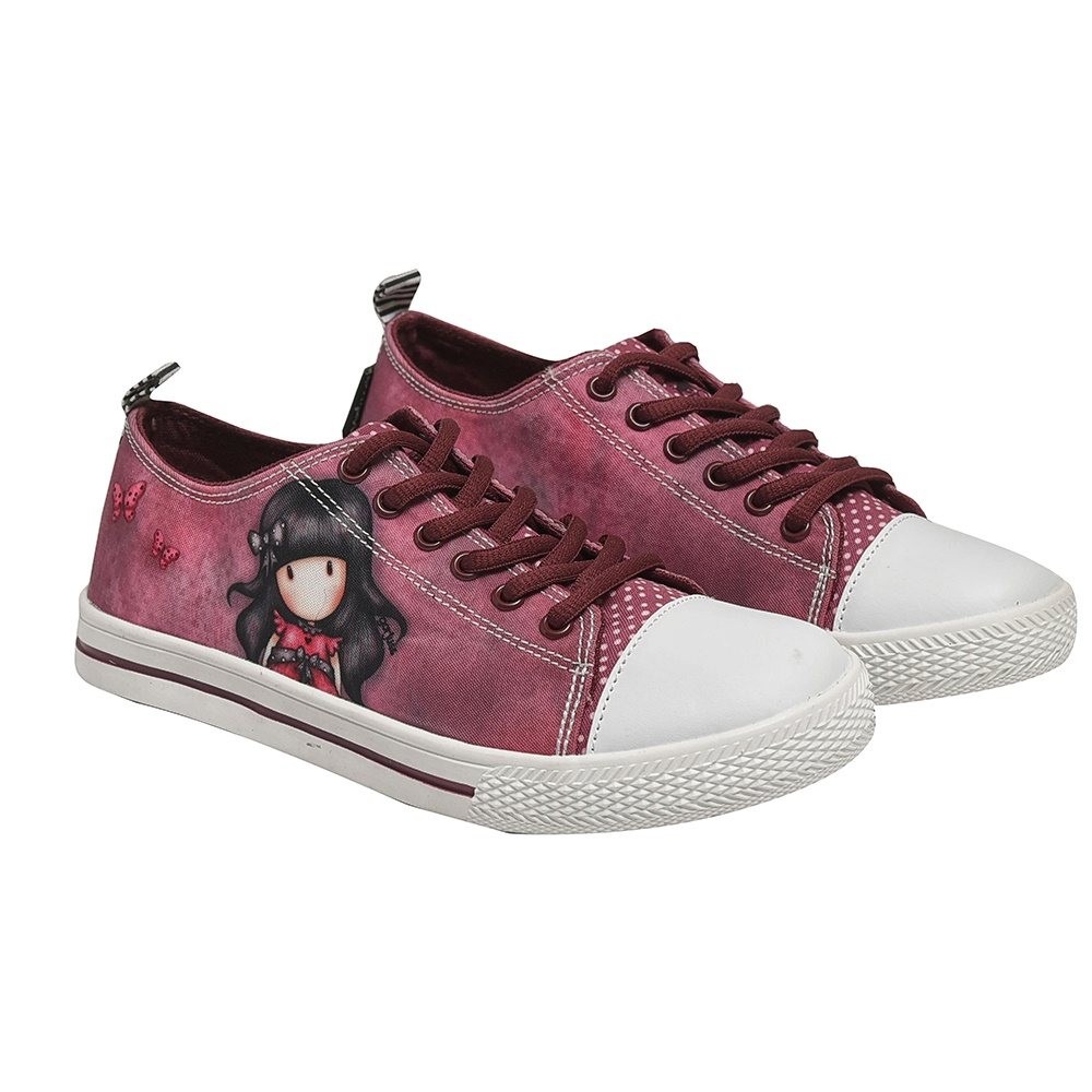 SANTORO Gorjuss – Παιδικά sneakers για κορίτσια SANTORO Gorjuss μπορντό