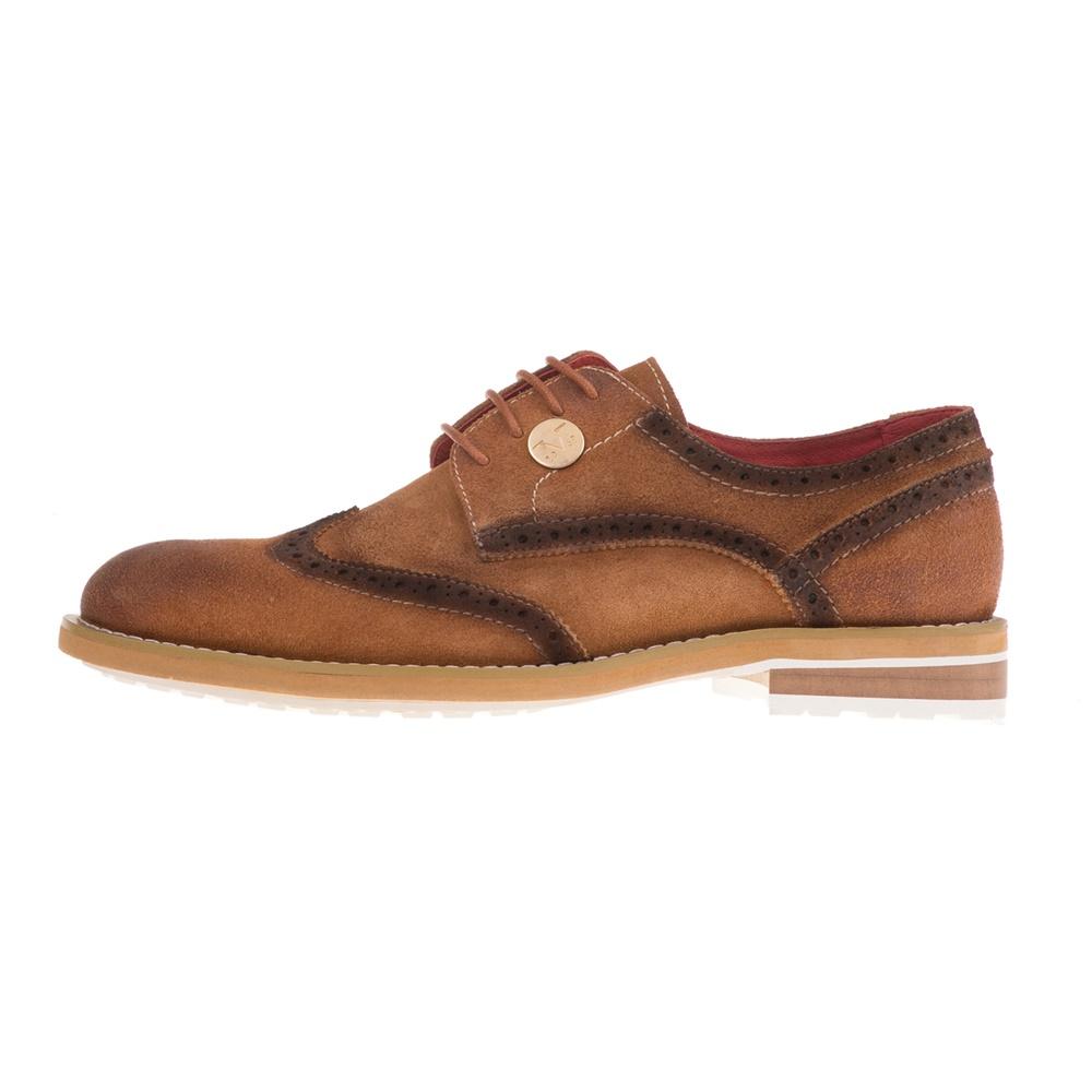 19V69 ITALIA – Ανδρικά δετά παπούτσια 19V69 ITALIA καφέ