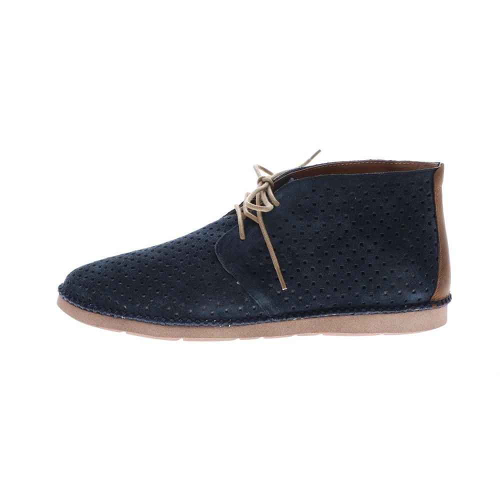 ZITA – Ανδρικά δετά παπούτσια ZITA BOOT CASUAL μπλε καφέ