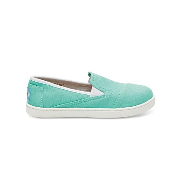 TOMS - Παιδικά slip-ons TOMS CANVAS SNEAK πράσινα παιδικά boys παπούτσια εσπαντρίγιες slip on