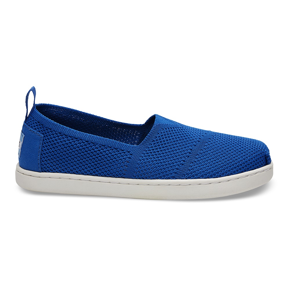 3d402e940ca -40% Factory Outlet TOMS – Παιδικά slip-ons TOMS MESH KNIT μπλε