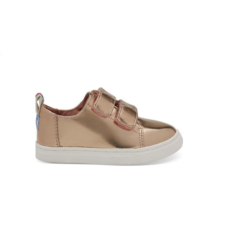 4fa941abf7c -25% Factory Outlet TOMS – Βρεφικά παπούτσια TOMS ROSE GOLD SPECCHIO χρυσά